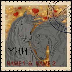 YHH: ValentinePostageStamp - OPEN