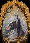 YHH: GoldTree portrait - SOLD