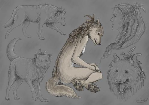 Sketch: Freya