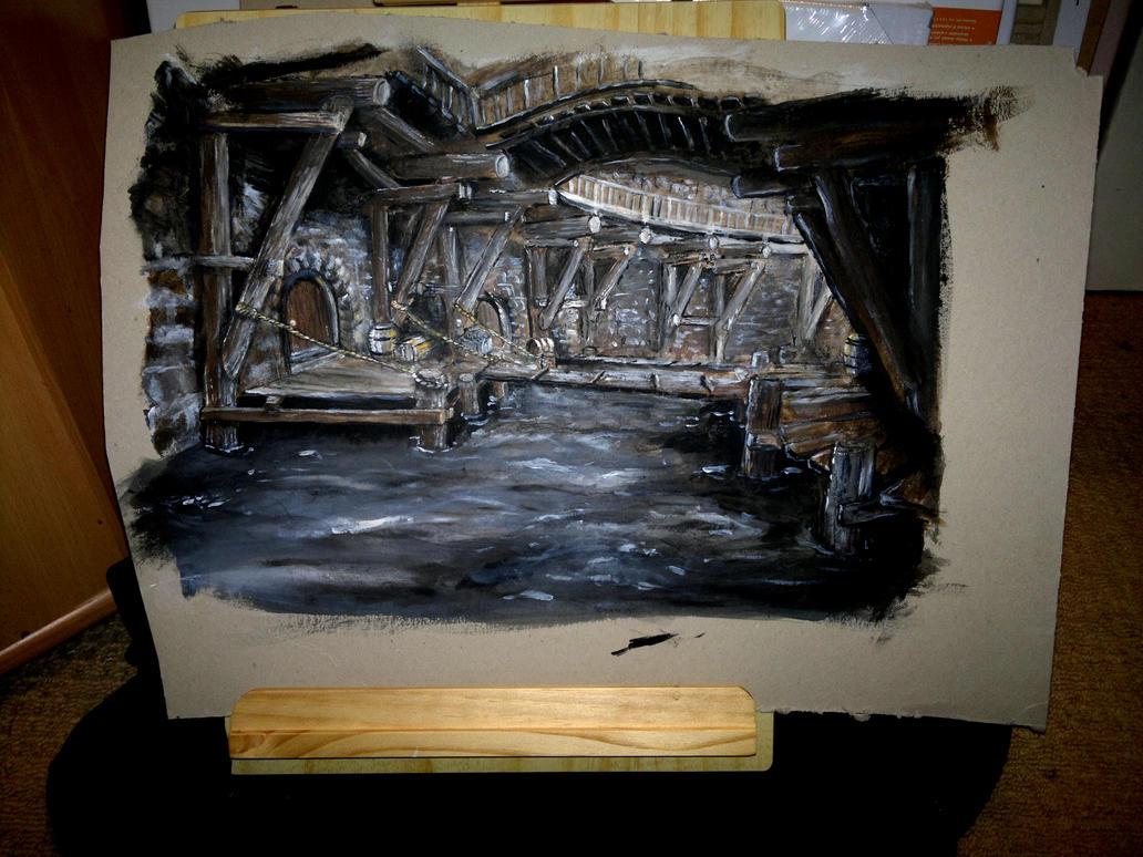 Riften Skyrim by TheAdelhide