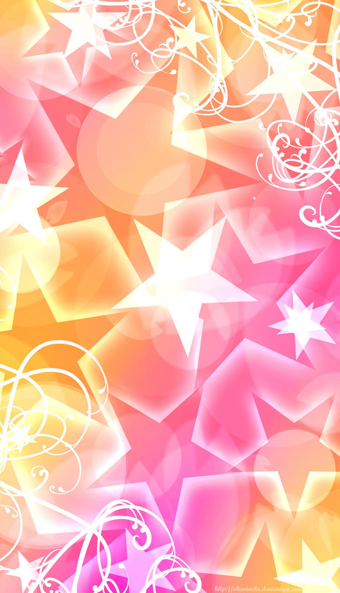 background pink and yellow by shanineko on deviantart
