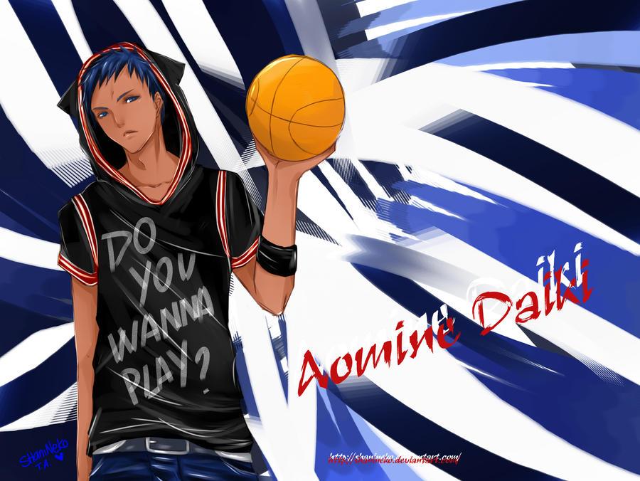 Aomine Daiki by ShaniNeko