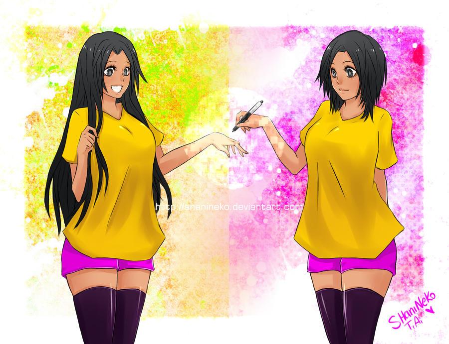 Draw my OC Shani by ShaniNeko