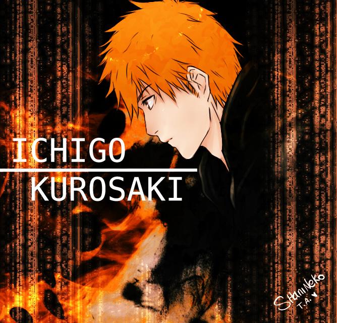 Bleach Oc Hakugin Jin By Sarzill On Deviantart: Ichigo Kurosaki By ShaniNeko On DeviantArt