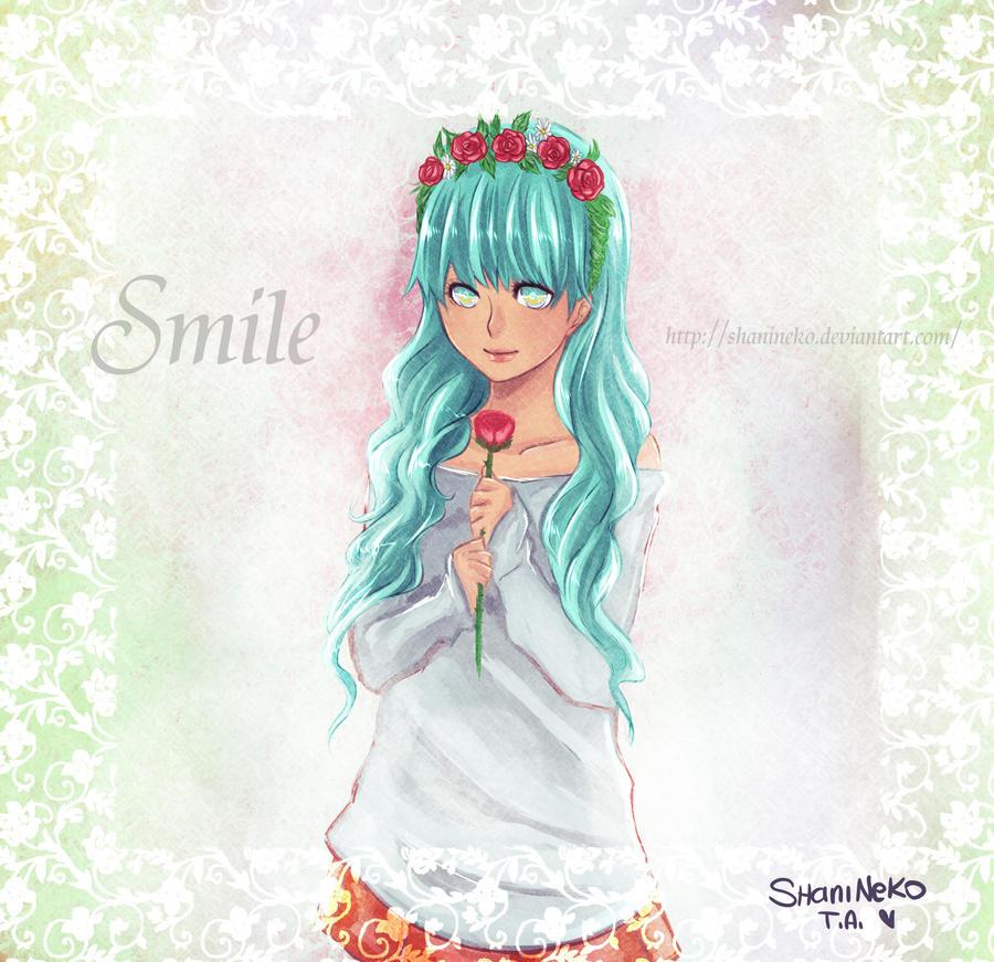 Smile - sweet girl by ShaniNeko