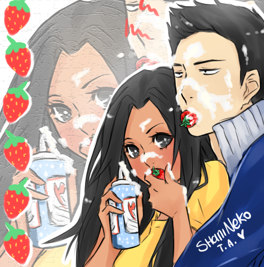 Cecco x Shani: Strawberry by ShaniNeko