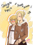 Annie X Armin - Attack on Titan