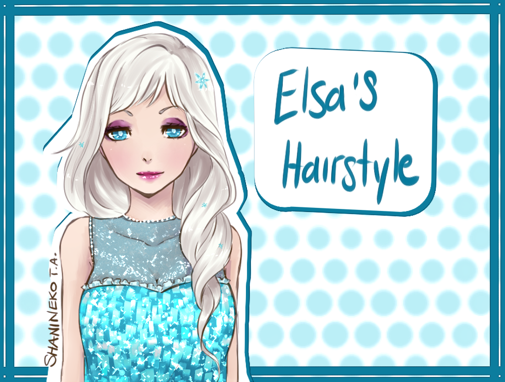 Elsa's Hairstyle by ShaniNeko