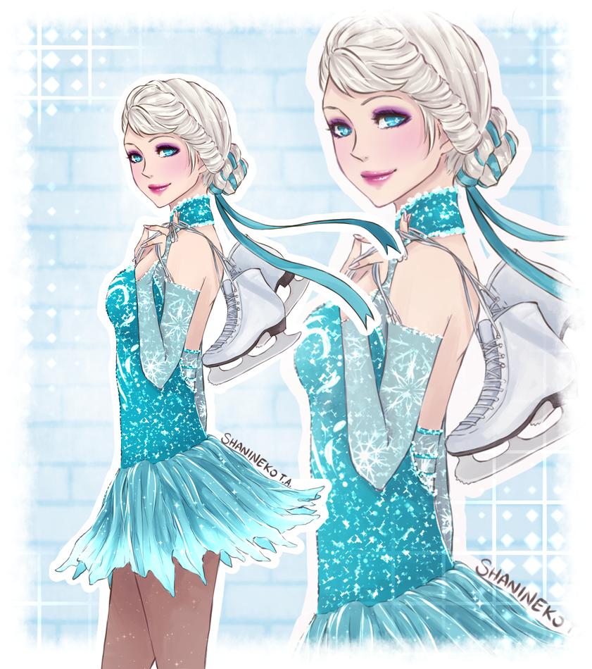 Elsa Sport by ShaniNeko