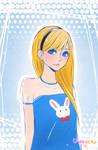 Modern Alice in Wonderland