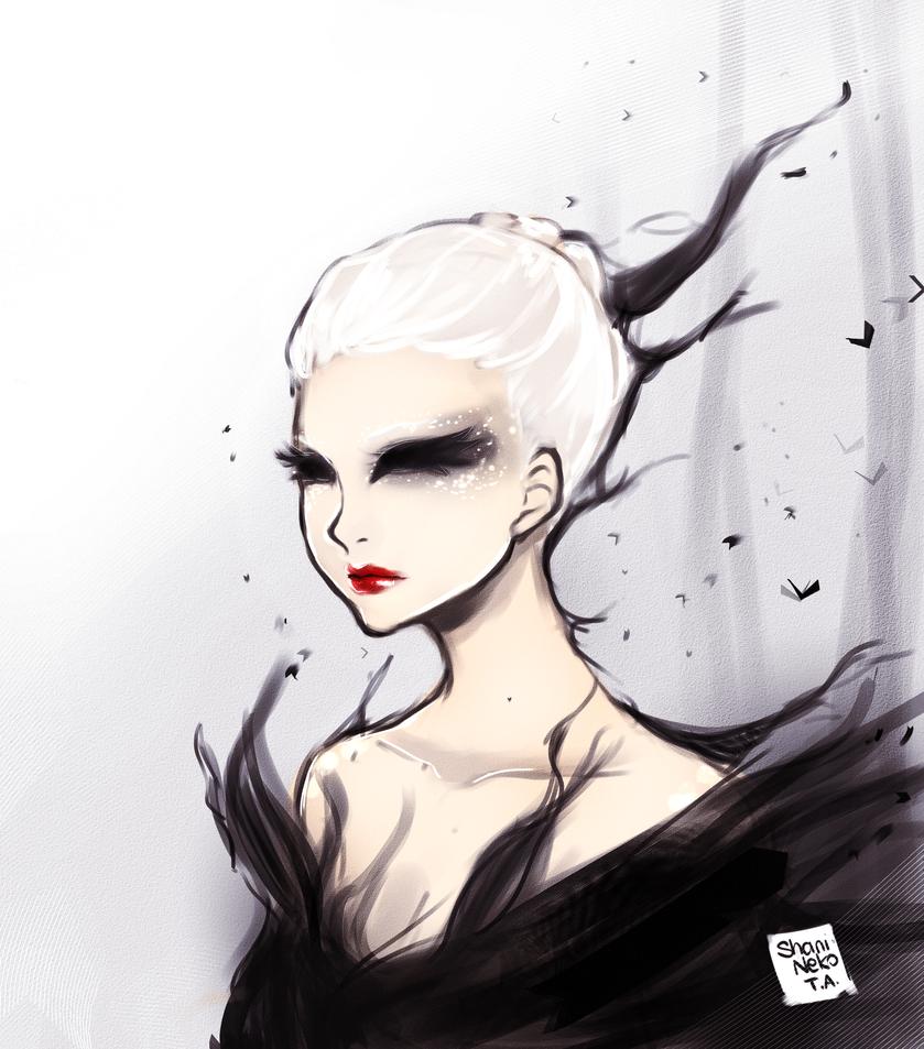 Dark Swan by ShaniNeko