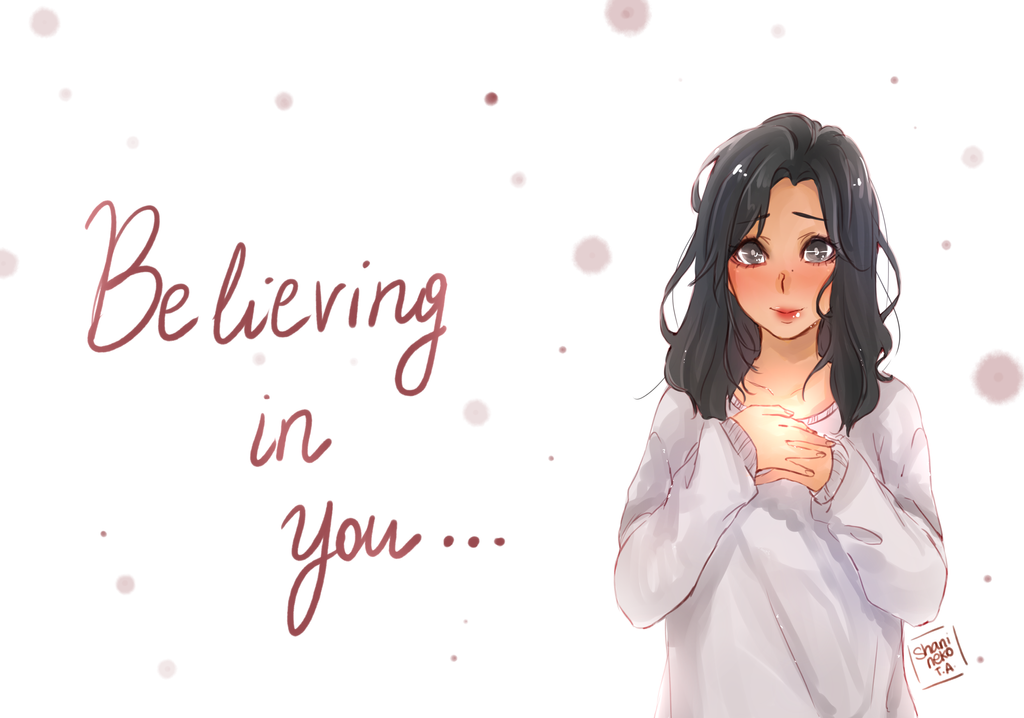 Believing in you by ShaniNeko