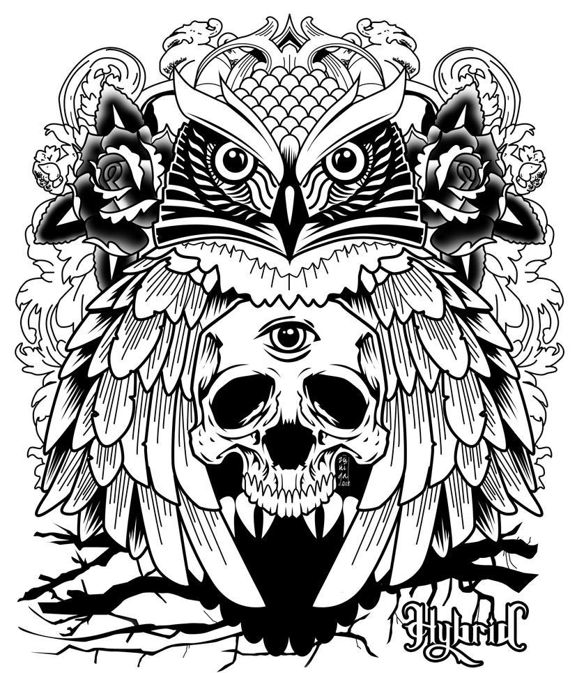owl hybrid co by bkresnik on deviantart