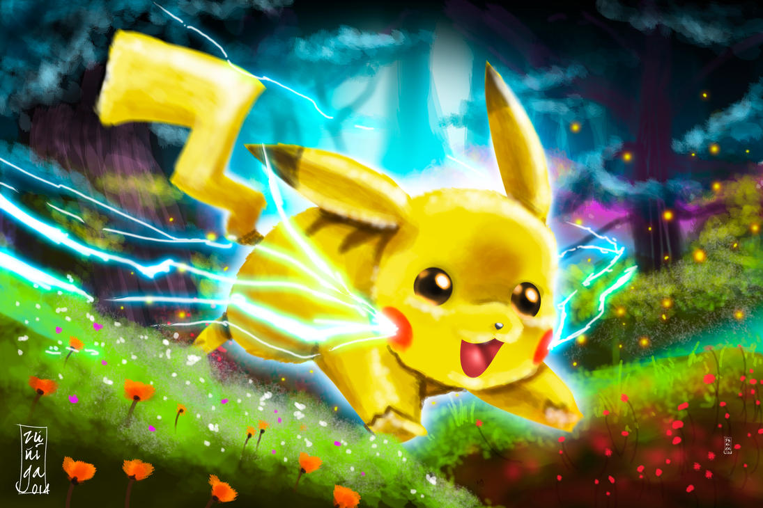 Pikachu by BKresnik