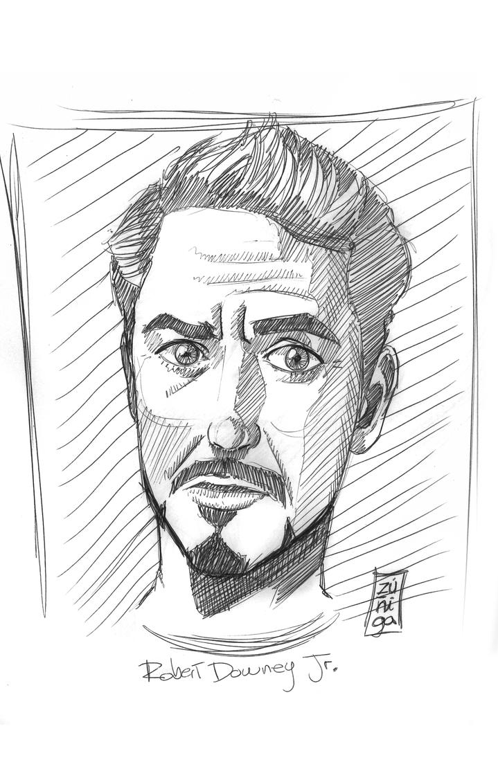 Robert Downey Jr by BKresnik