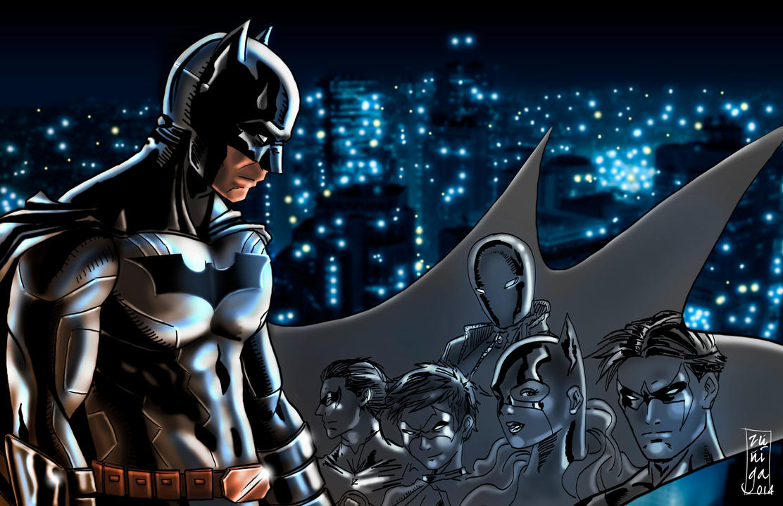 Batman family by BKresnik