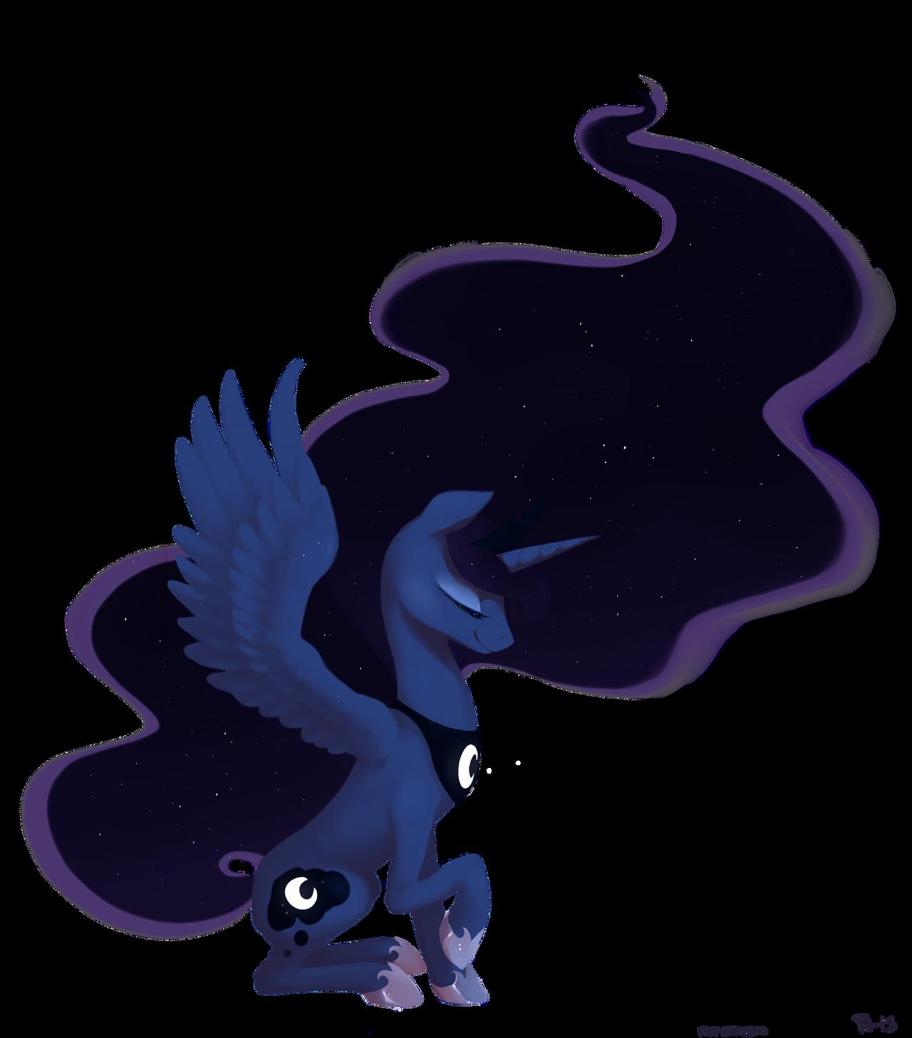 Luna by purmu