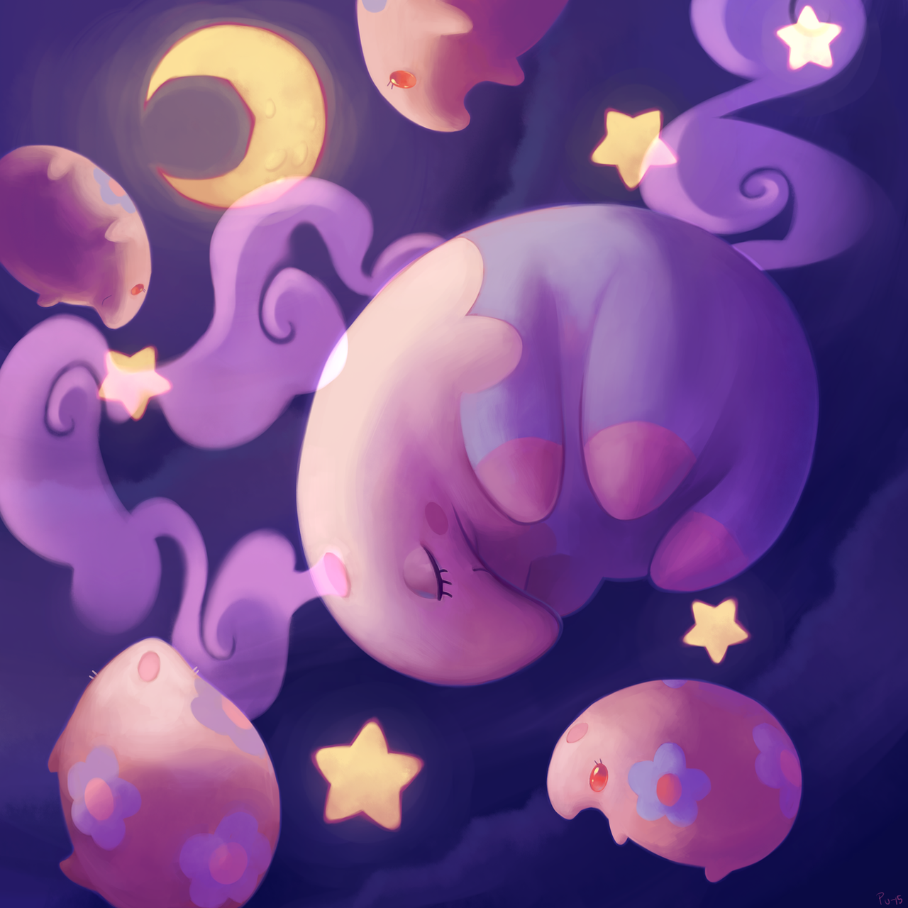 Sweet dreams by purmu