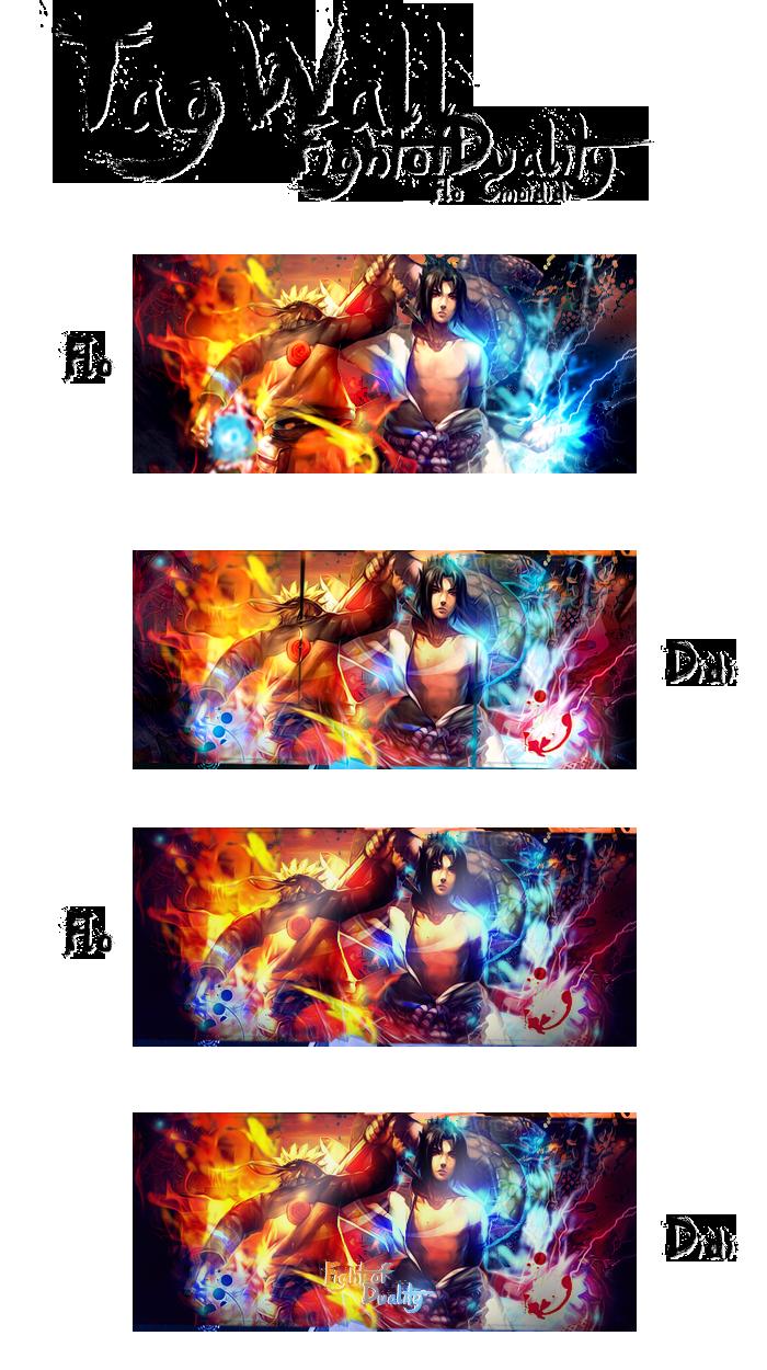 [cmoididi]Dessins/CREAs Fight_of_duality_by_cmoididi-d6dam0b