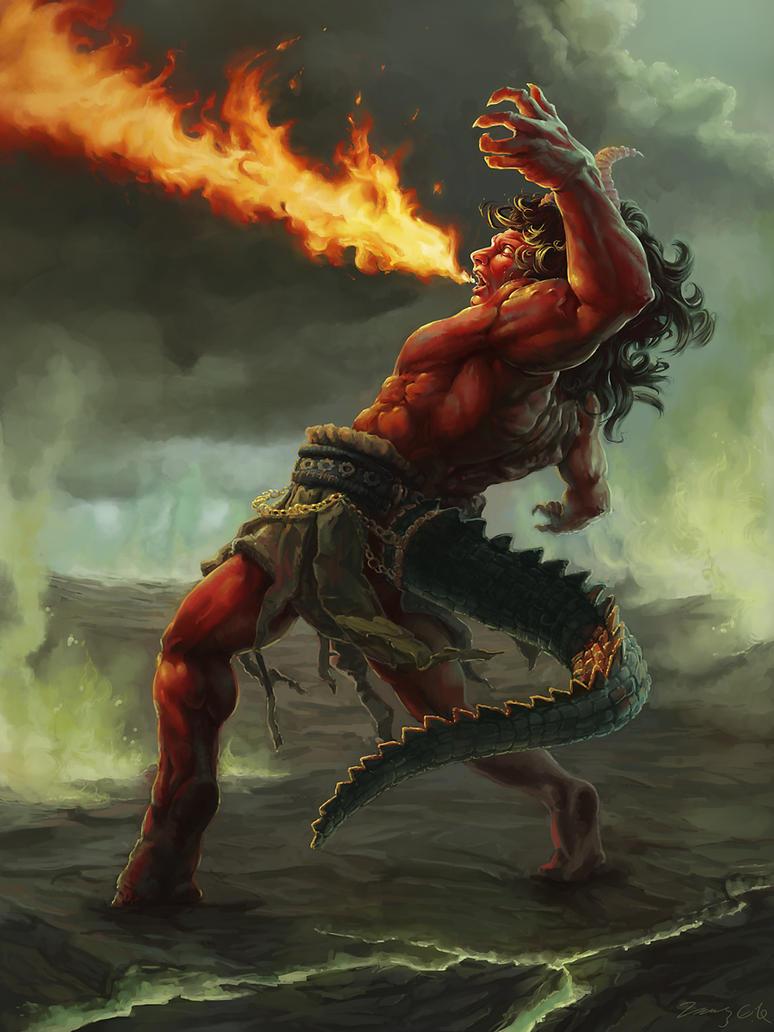 Flame Sorceror by lancelotrichardson
