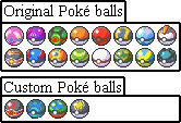 Pokeballs by Ozzlander