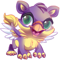 baby griffen by Ozzlander