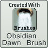 created w. obsidian dawn brush by Ozzlander