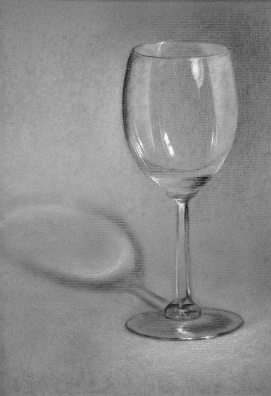 Wine glass by saret on deviantart for How to draw on wine glasses