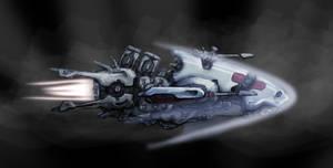 space ship development by bluwolf22