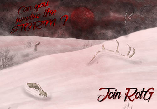 RotG Group Advertisement Can YOU survive the storm