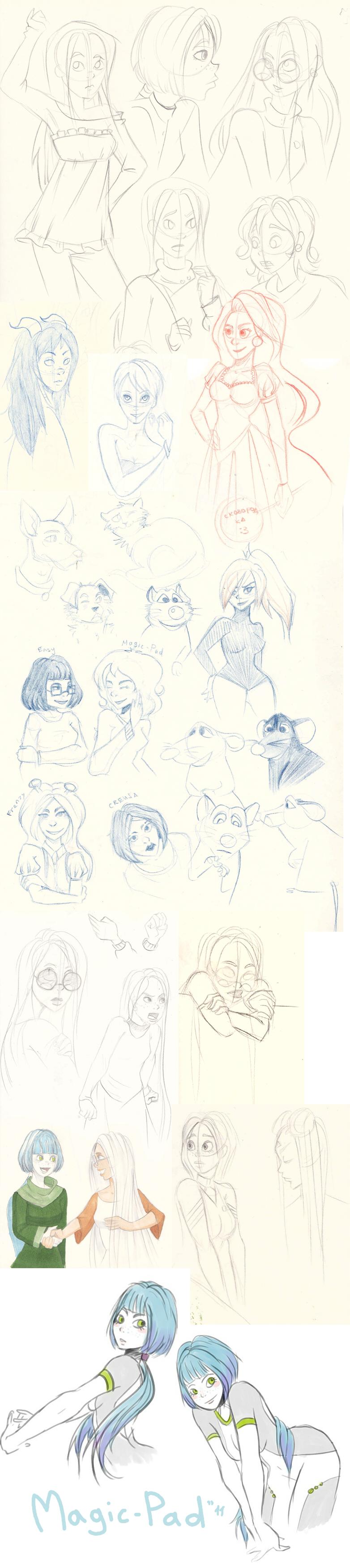 Magic-Pad sketchbook