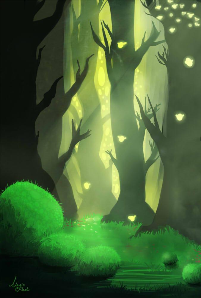 Magic forest by YONXI