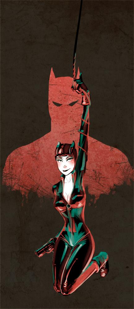 Catwoman by YONXI