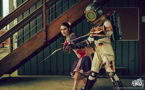 Bioshock 2 cosplay - Sydneynova 01