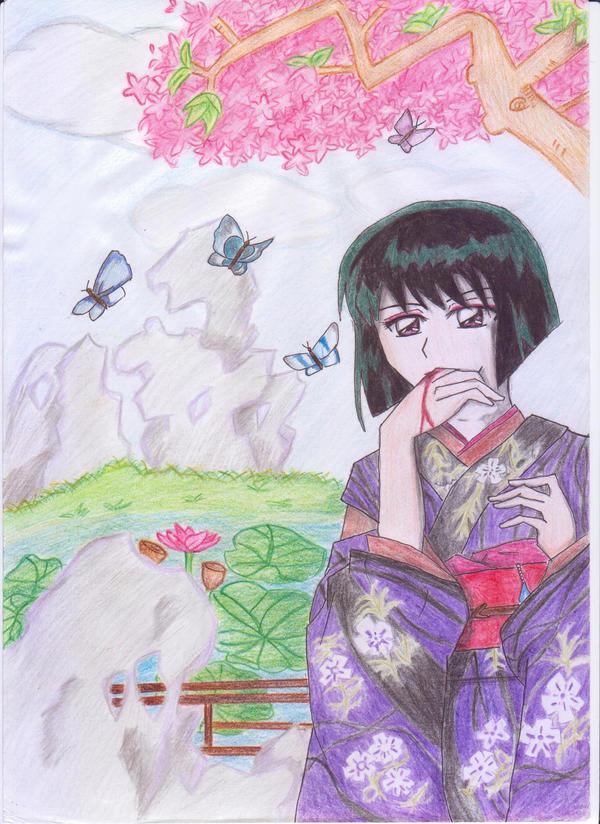 Yura in spring by fukaimoriMidori