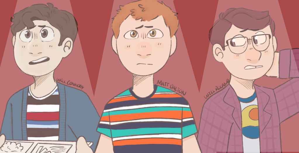 The 3 Jeremy Heeres  by LittleEchoArtist