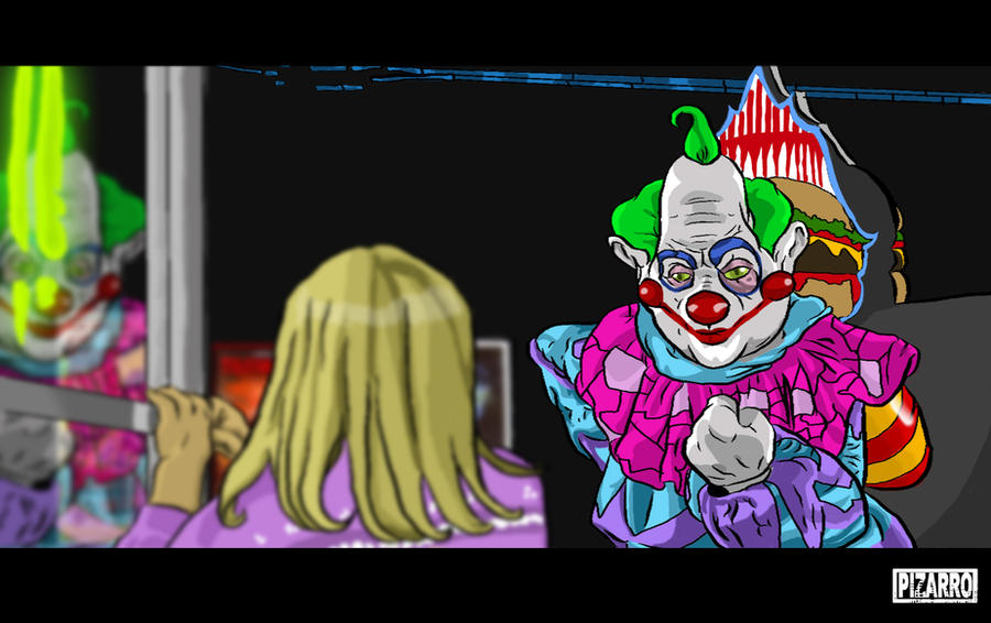 Killer klowns from outer space clown names for Killer klowns 2