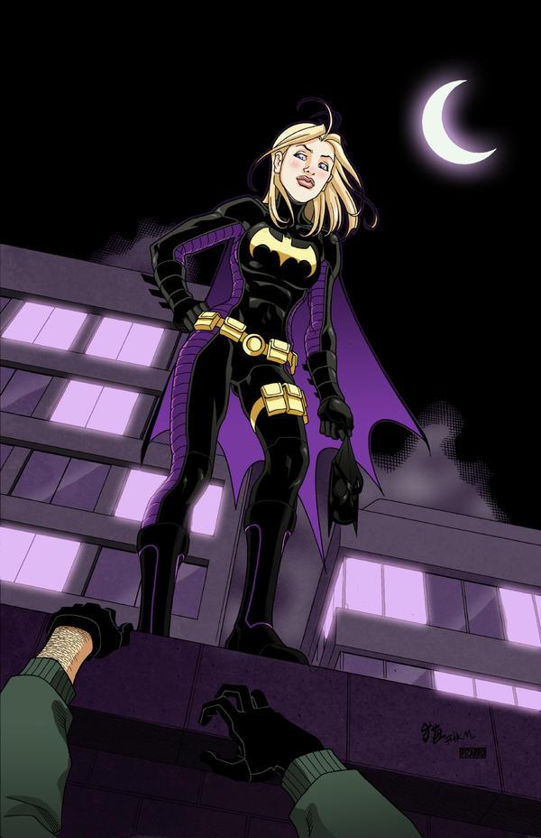 Badass Batgirl by Rick Mays