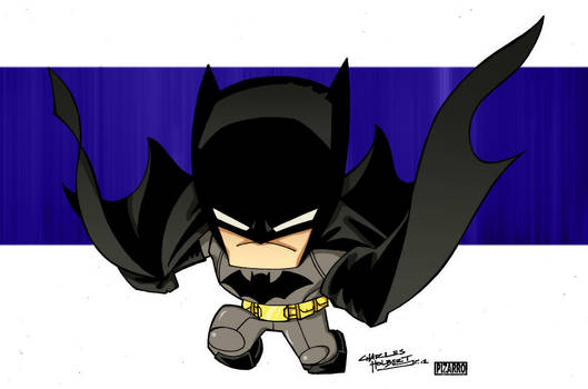 Little Big Head Batman by KidNotorious