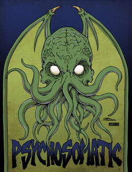 Psychosomatic Cthulhu by JeffSalgado