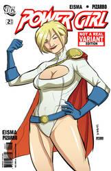 Powergirl by Supajoe