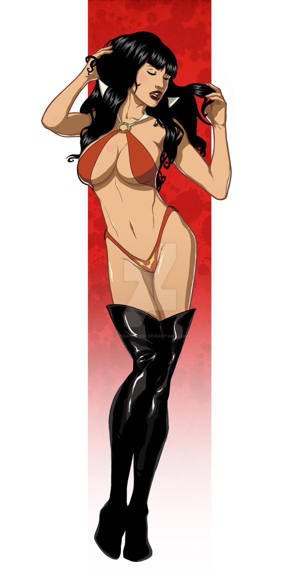 Vampirella by BuzzoTano by VPizarro626
