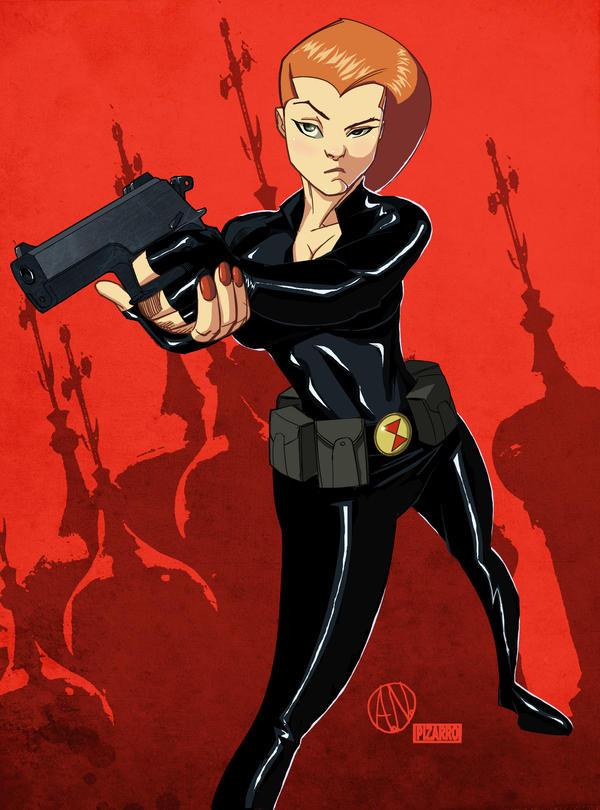 Black Widow By Theadriannelson by VPizarro626