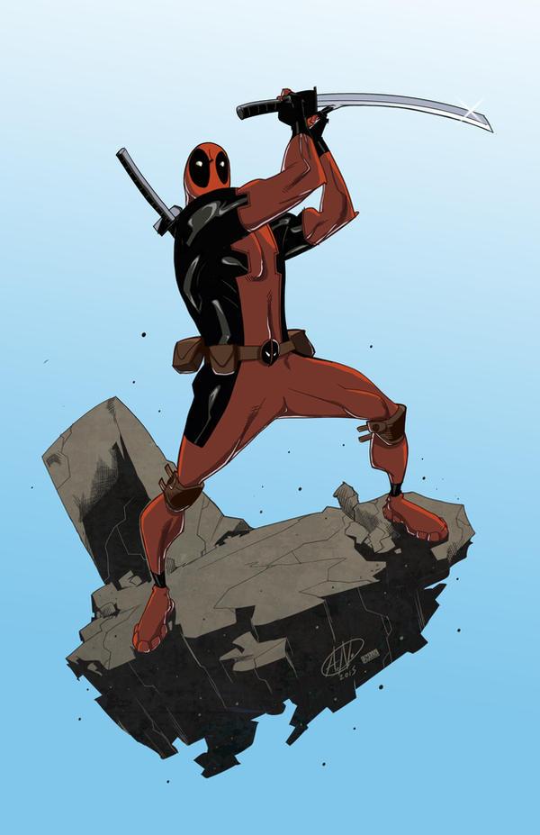 Deadpool By Theadriannelson by VPizarro626
