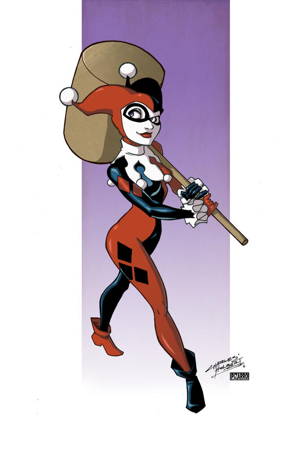 Harley Quinn by Kidnotorious by VPizarro626