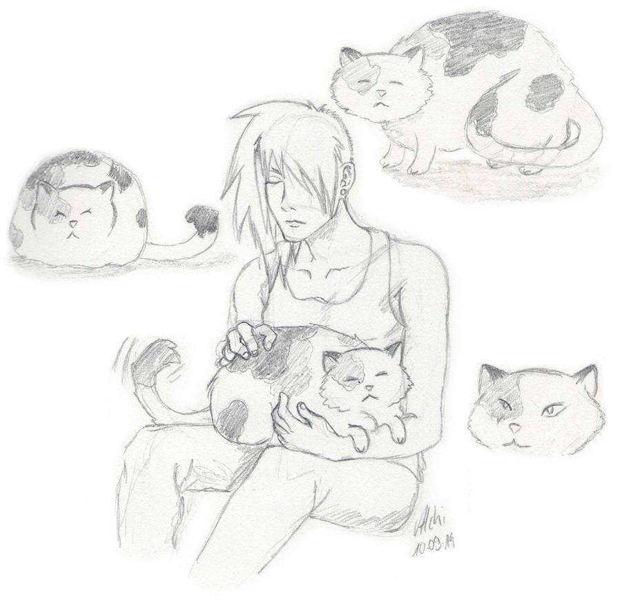 Shinto..cats by der-kleene-Alchemist