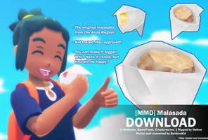 [MMD] Malasada - DL by bechnokidMMD