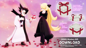 [MMD] Mystery Gift - DL by bechnokidMMD