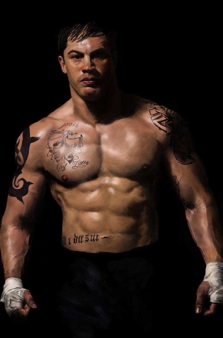 how to get a body like tom hardy