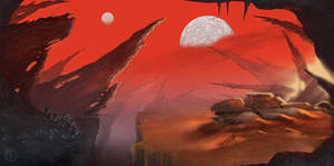 Sci-Fi Illustration/Commission
